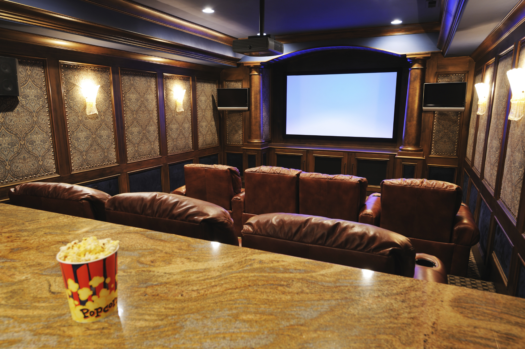 home theater it 39 s just wire. Black Bedroom Furniture Sets. Home Design Ideas